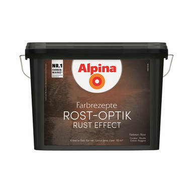 Alpina Farbrezepte ROST-OPTIK Set - 1.2 Liter - Bild 1