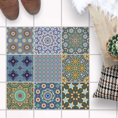 Fliesenaufkleber Boden - Orientalisches Mosaik