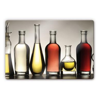 Glasbild Olio e Aceto