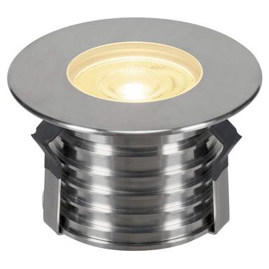 LED Bodeneinbauleuchte Dasar Premium, rund, 177 mm, IP67. Edelstahl 316. 24°