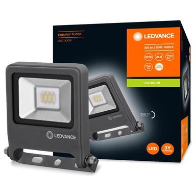 LED Flutlicht Endura in Dunkelgrau 10W 800lm IP65