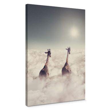 Leinwandbild Loose - Giant Giraffes