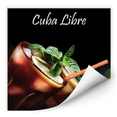 Wallprint Cuba Libre
