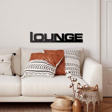Acrylglas Buchstaben Lounge