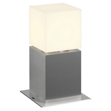 LED Wegeleuchte Square Pole 30 in Silber 12W 760lm IP44