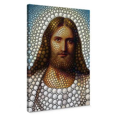 Leinwandbild Ben Heine - Circlism: Jesus Christus