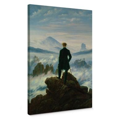 Leinwandbild Friedrich - Der Wanderer über dem Nebelmeer