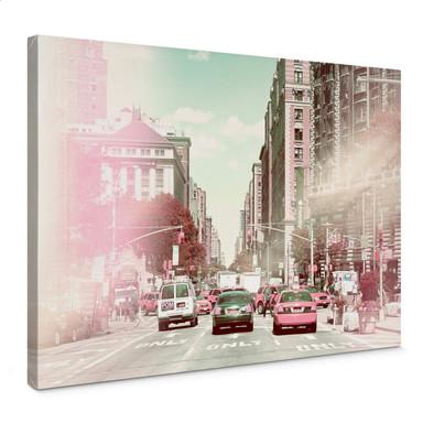 Leinwandbild Hugonnard - New York Pastell