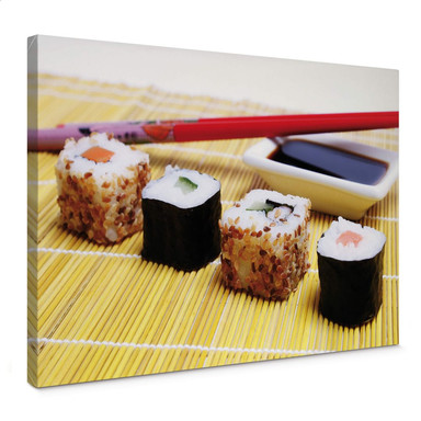 Leinwandbild Sushi Maki