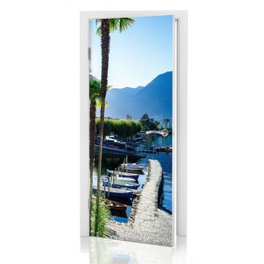 Türdesign Hafen am Lago Maggiore - Bild 1