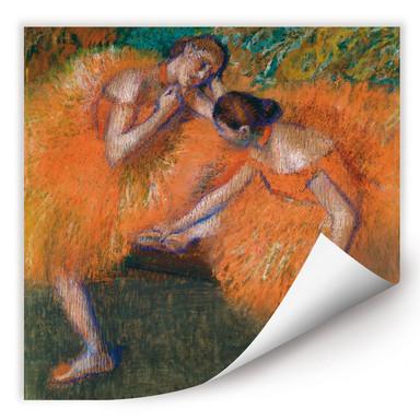 Wallprint Degas - Zwei Tänzerinnen