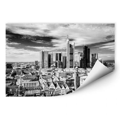 Wallprint Frankfurter Skyline