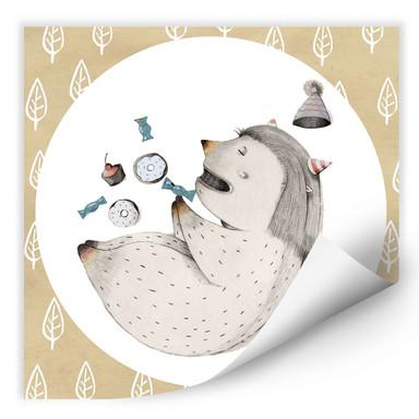 Wallprint Loske - Schlafendes Monster