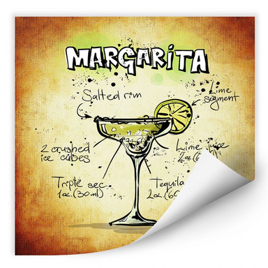 Wallprint Margarita - Rezept