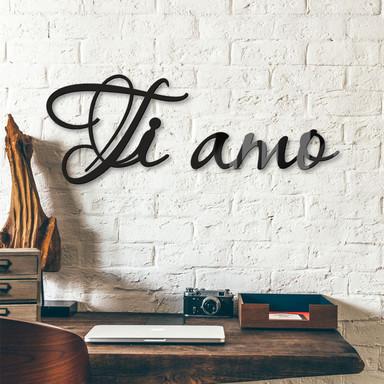 Acrylbuchstaben Ti amo