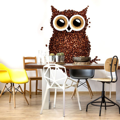 Fototapete Kaffeeeule