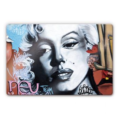 Glasbild Urban Graffiti Art