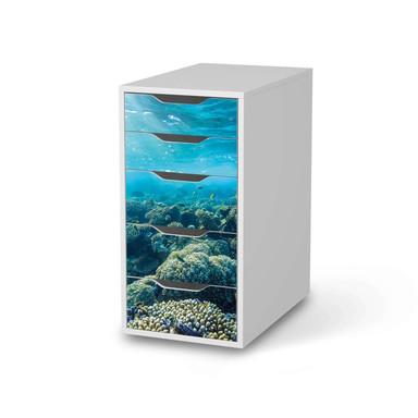 Klebefolie IKEA Alex 5 Schubladen - Underwater World
