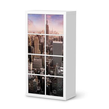 Klebefolie IKEA Expedit Regal 8 Türen - Big Apple- Bild 1
