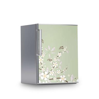 Kühlschrankfolie 60x80cm - White Blossoms