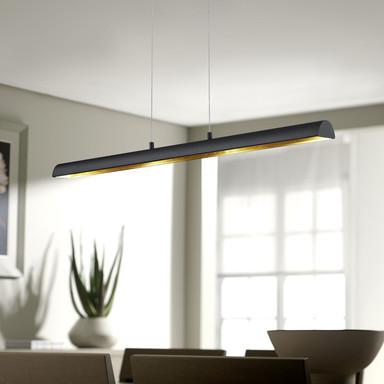 LED Pendelleuchte in Schwarz 4x4.5W 1720lm