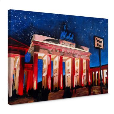 Leinwandbild Bleichner - Berlin unterm Sternenhimmel