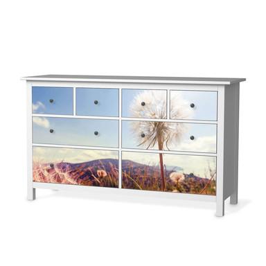Möbelfolie IKEA Hemnes Kommode 8 Schubladen - Dandelion