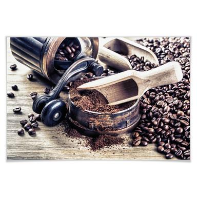 Poster Kaffeeduft