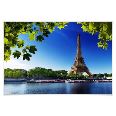 Poster Summer in Paris