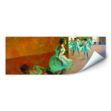 Wallprint Degas - Tänzerinnen auf einer Treppe - Panorama