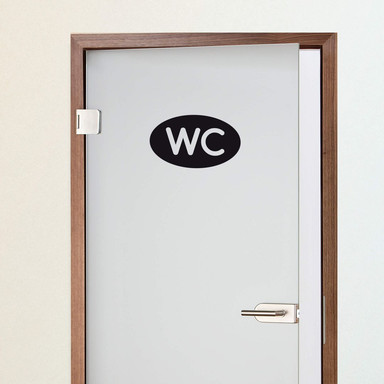 Wandtattoo Bad - WC 3