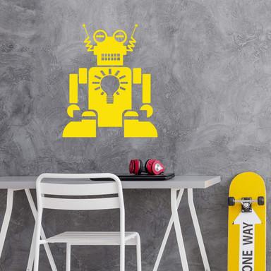 Wandtattoo Roboter Aaron