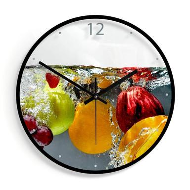 Wanduhr aus Glas - Erfrischendes Obst Ø30cm - Bild 1