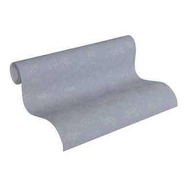 Vliestapete Premium Wall Tapete floral grau, metallic