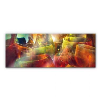 Acrylglasbild Schmucker - Zu später Stunde – Panorama
