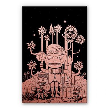 Alu-Dibond-Kupfereffekt - Drawstore - In the Woods