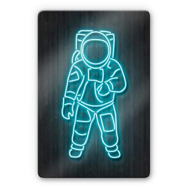 Glasbild Mielu - Astronaut