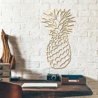 Holzkunst - Ananas - Pappel