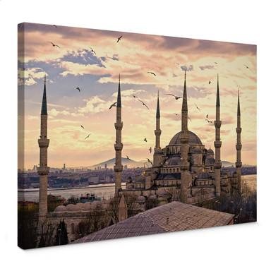 Leinwandbild Blaue Moschee