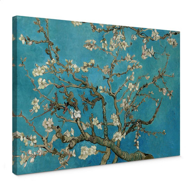 Leinwandbild van Gogh - Mandelblüte