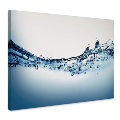 Leinwandbild Water Flow