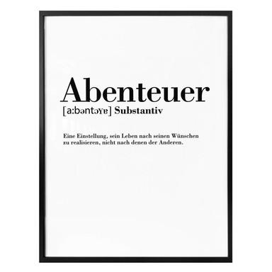 Poster - Abenteuer