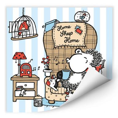 Wallprint sheepworld Home Sheep Home Music