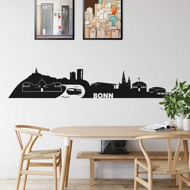 Wandtattoo Bonn Skyline