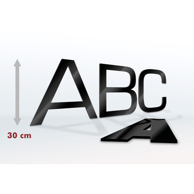 Acrylglas Buchstaben 30 cm Buchstabenhöhe
