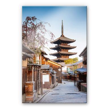 Acrylglasbild Colombo - Yasaka Pagode in Japan