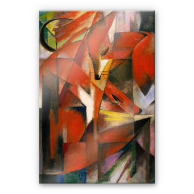 Acrylglasbild Marc - Füchse