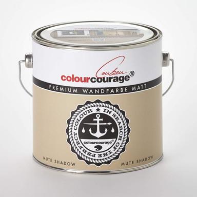 colourcourage® Premium Wandfarbe matt Mute Shadow