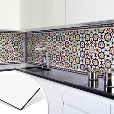 Küchenrückwand - Alu-Dibond - Orientalische Kacheln 01