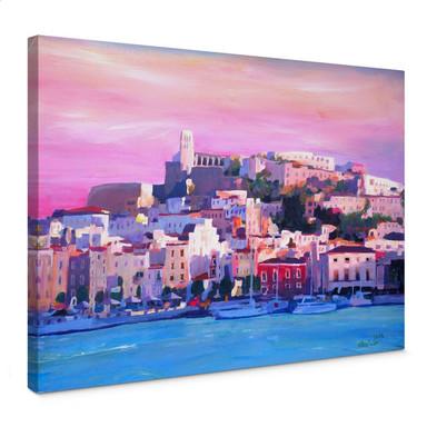 Leinwandbild Bleichner - Ibiza-The Pearl of the Mediterranean